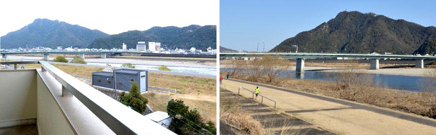 私たちの「庭」 金華山と長良川