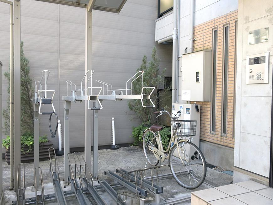 Green Hill_自転車置き場