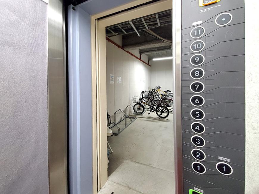 07EV内より1階の自転車置場