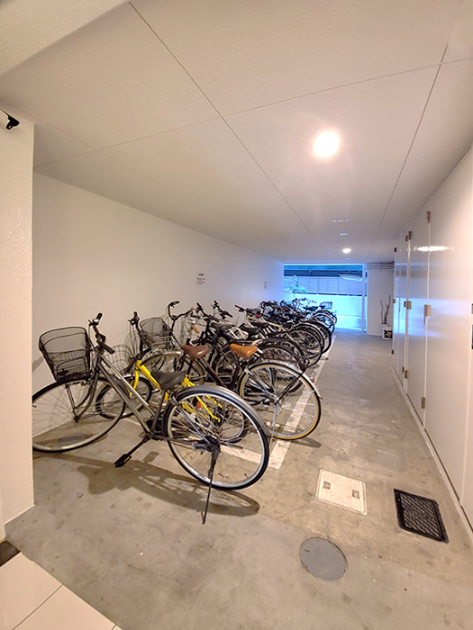 08共用部_自転車置き場