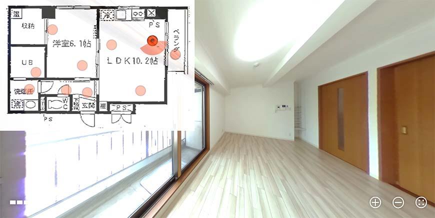サン・フシミビル_1002号室アイキャッチ