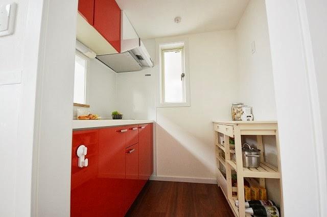 とってもかわいらしいキッチン。1234
