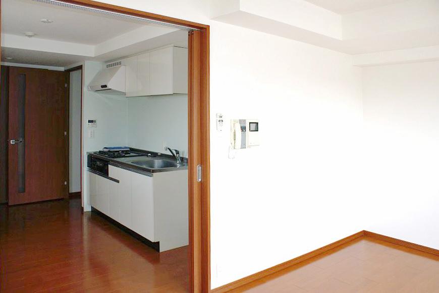 明るくて柔らかい印象のキッチン。