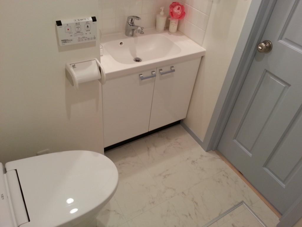 洗面所は扉もあって、鍵もかかります_20140710_143822