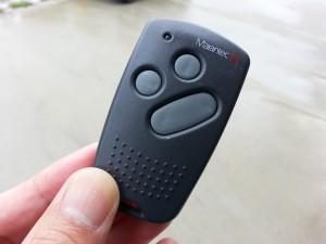 電動シャッターのリモコン。20140713_113631