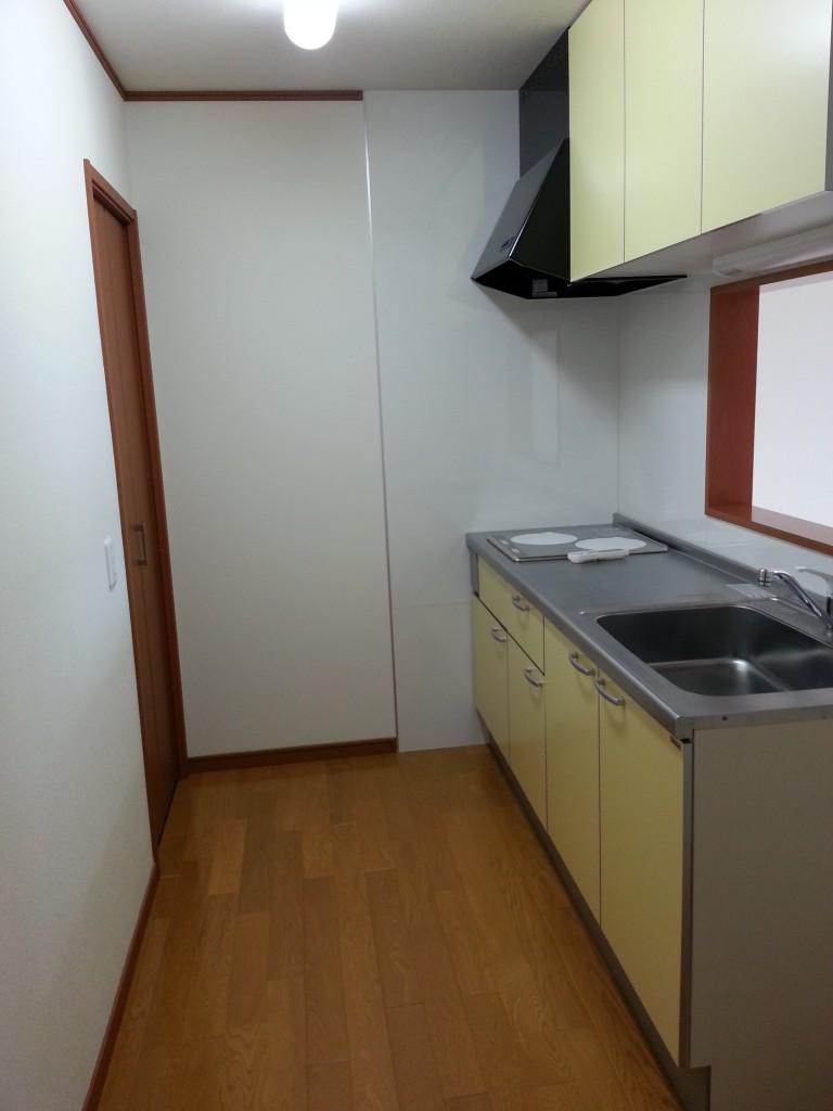 広いキッチンスペース。20140713_113922
