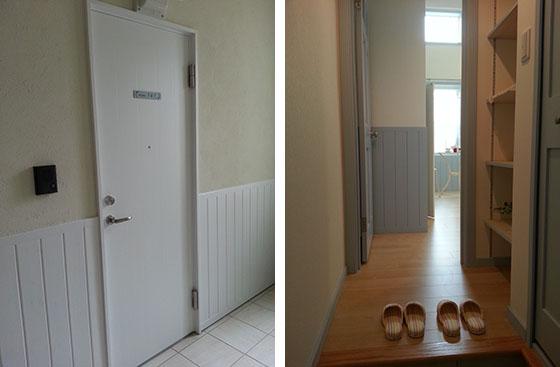 お部屋の玄関