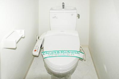 ウォッシュレット付きのトイレは嬉しいです。