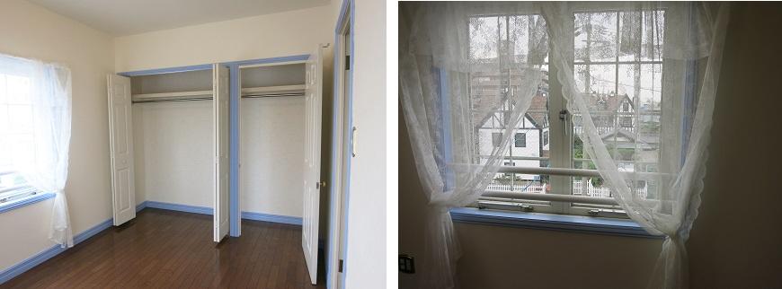 リビングから離れているお部屋は、寝室にぴったりな静かな独立部屋です。