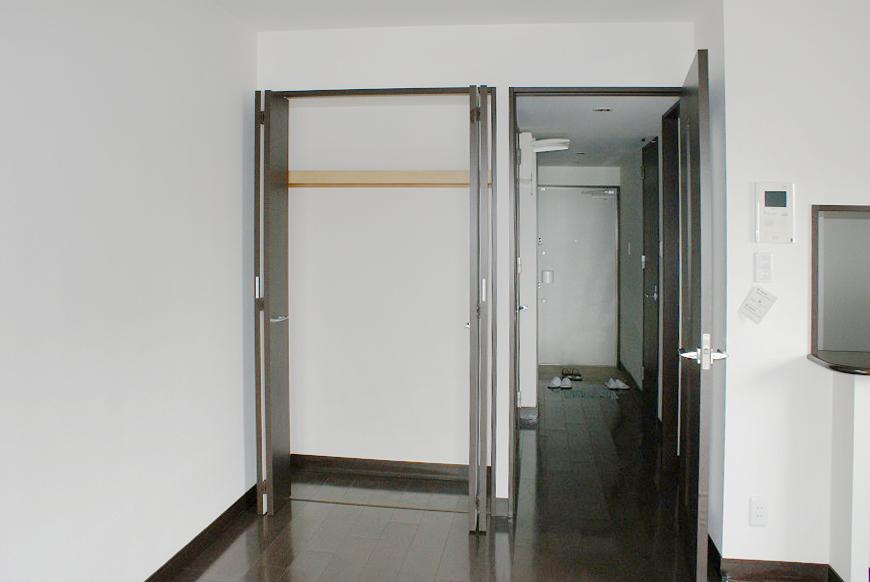 各部屋にクローゼットがついているので、収納力抜群です。