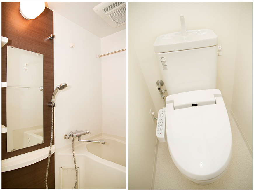 機能性に優れたバスルームにトイレbath_toile