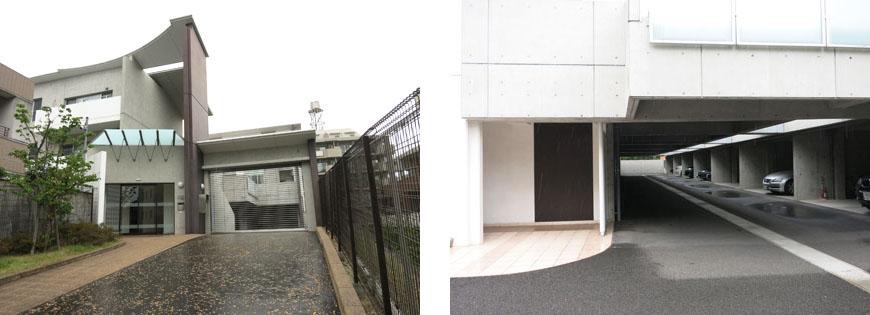 二台分の駐車場も完備。東山ゲートと駐車場870補正