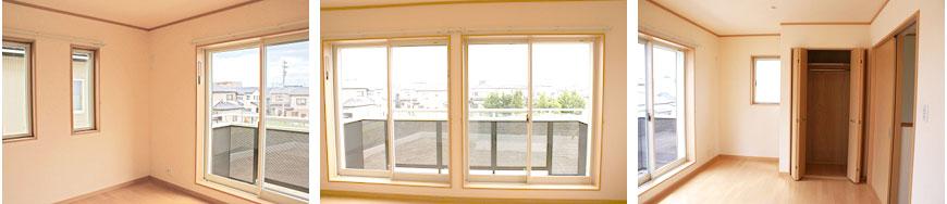 南面の大きな掃き出し窓で一日中お日様と♪img_04