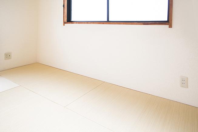 畳の部屋は、やっぱり一部屋あると嬉しいですね。