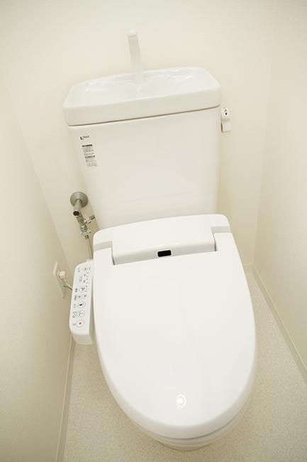 清潔感のあるきれいなトイレは嬉しいですね。