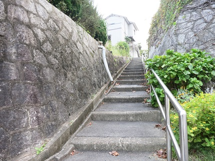 駅からSHARE HOUSE 知多までの、ざっくりした風景。
