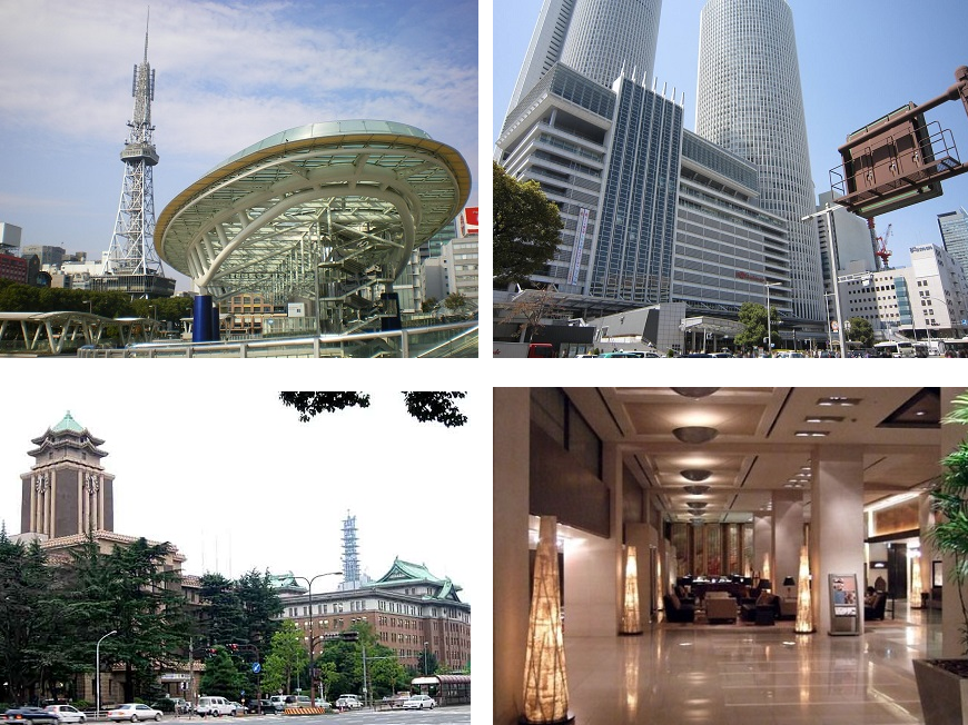 市役所もTV塔、美術館、デパート、名古屋駅も、自転車圏内です。