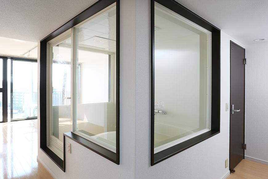 三面ガラスの開放的で実に珍しいお風呂a0a4379_1