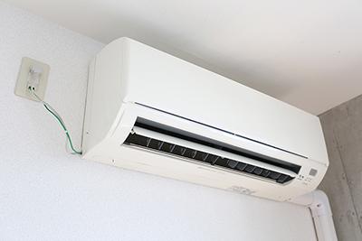 もちろんエアコンも完備されています。
