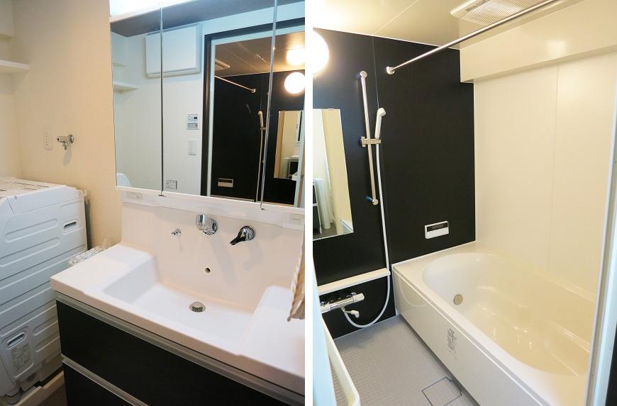 浴室は一坪サイズの広さ!