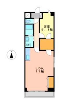 The Sengen terrace 間取り