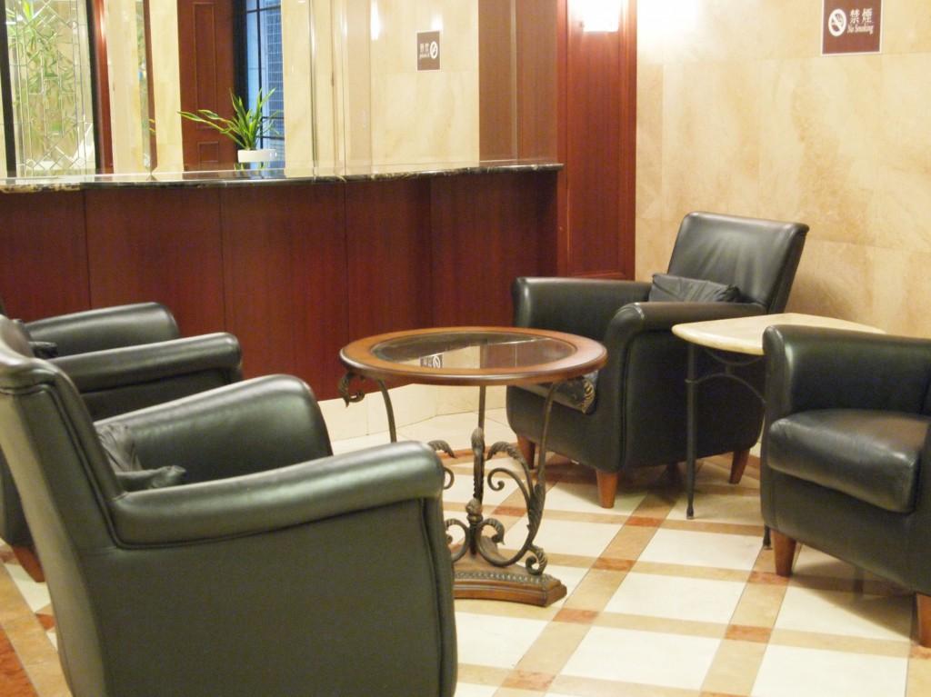 ホテルの様なフロント