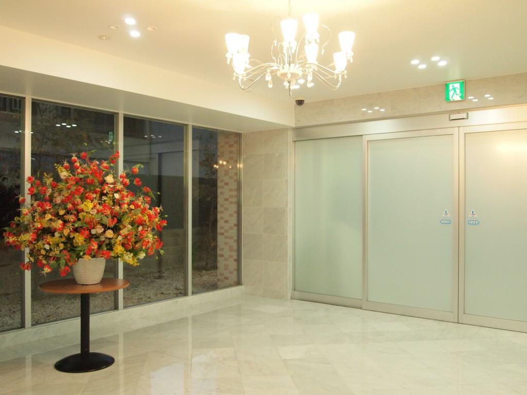 ハイテクエレベーターホール