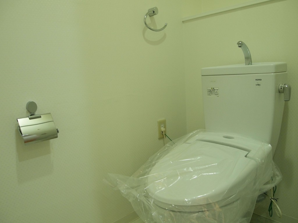 清潔感のあるきれいなトイレです。