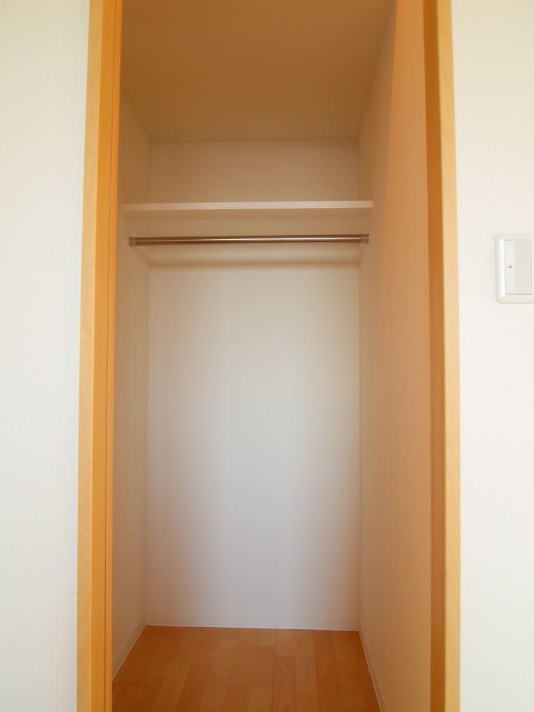 個室2ウォークインクローク