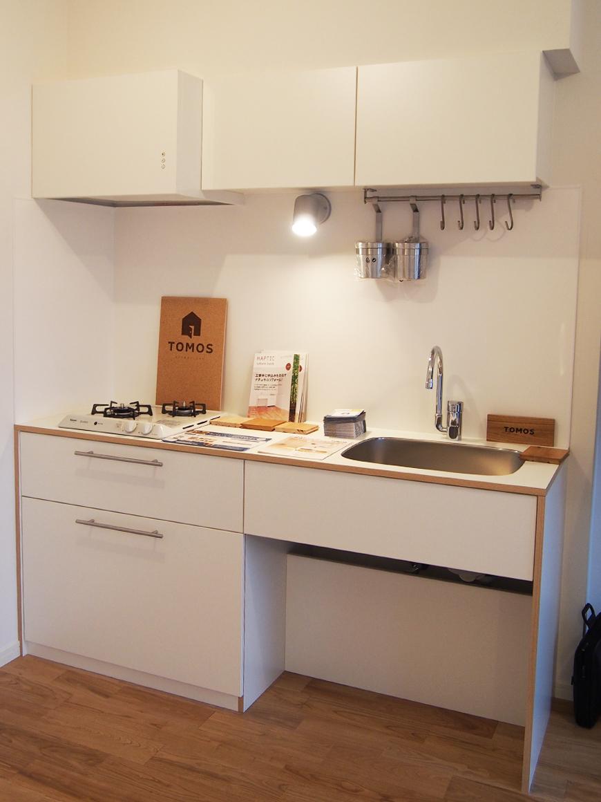 無駄のないシンプルな、大人気「オリジナルキッチン」kitchen_001