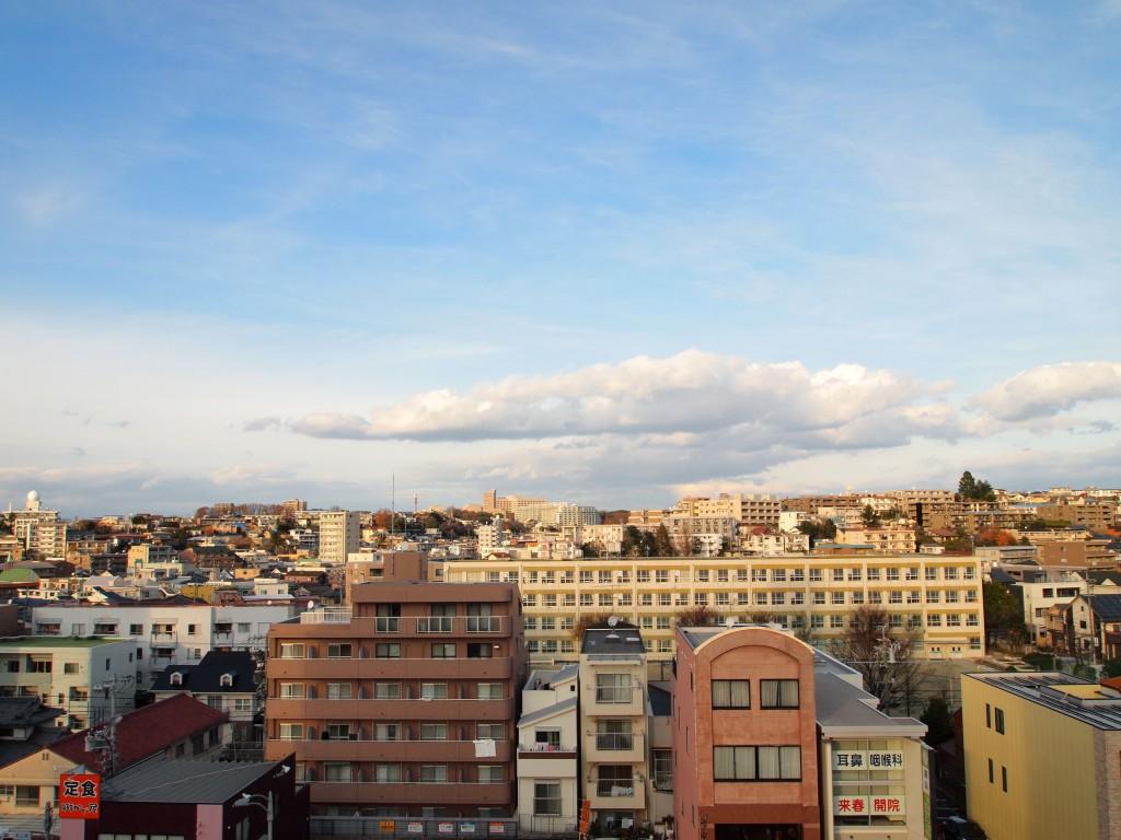 こんな素敵な景色が見られるフォレスト本山7階