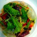 トリカフェ_季節野菜のスパゲッティ