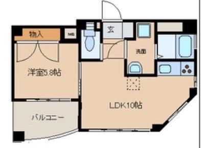 メゾン・ヴェルメイユ2 402号室
