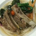 トリカフェ_豚スペアリブとオーガニック野菜のポトフ仕立て