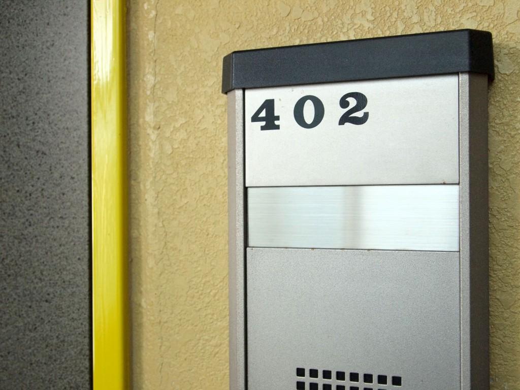 今回は、402号室へ!