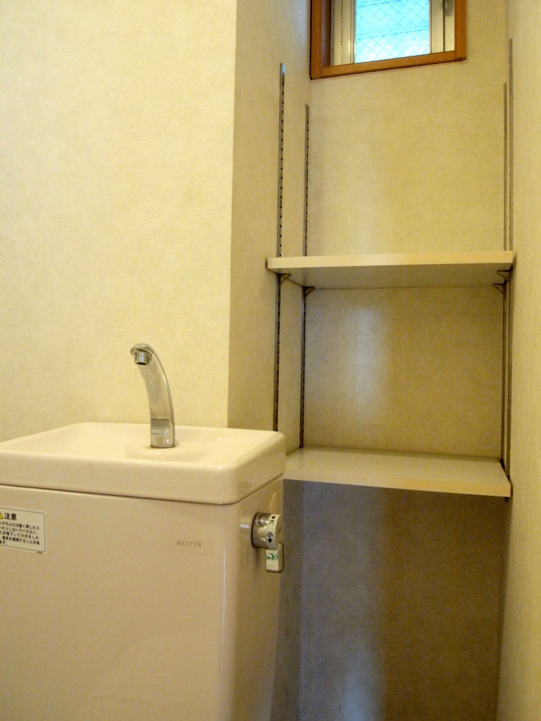 お手洗い棚