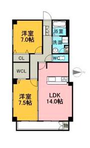 405号室_間取り図_スクリーンショット 2015-05-18 22.09.36