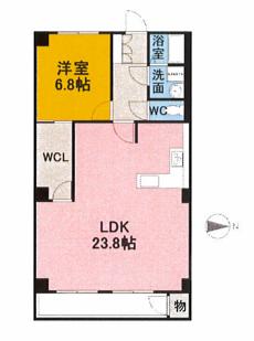 203号室_間取り図