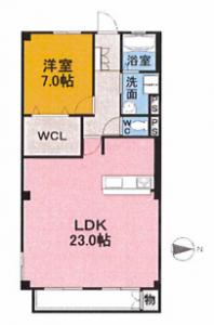 403号室_間取図
