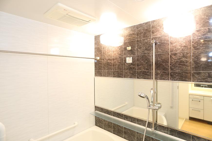 バスルームには、乾燥機も完備してあります。