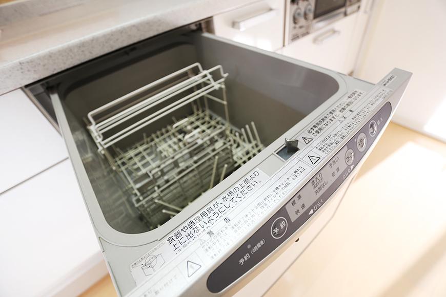食洗機は忙しい主婦の味方です。