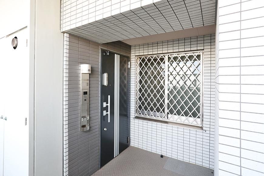 8階のお部屋。扉もやっぱりかっこいい。