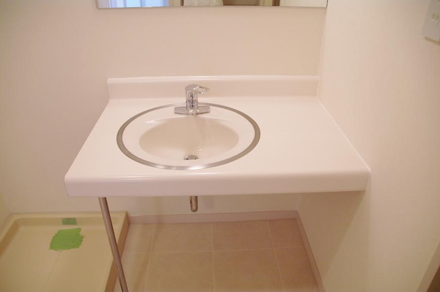 シンプルな洗面台_IMGP7883