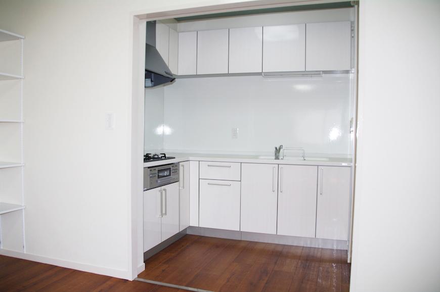 作業台も広々としているので、お料理しやすいキッチンIMGP8020