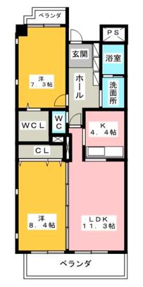 303号室_間取
