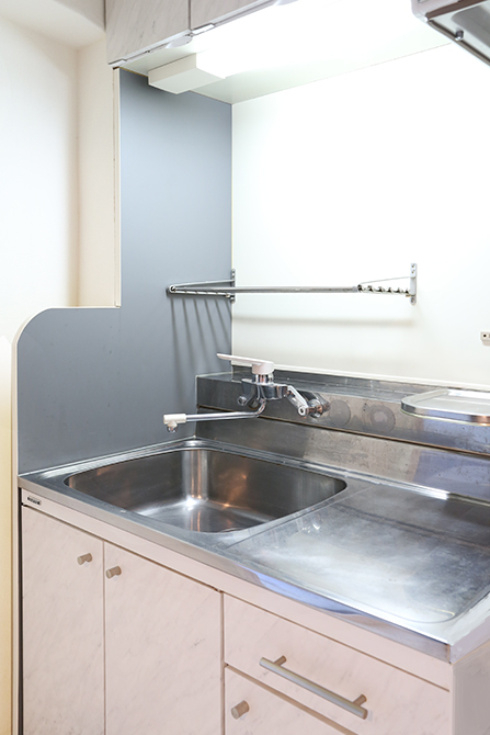 キッチンのシンク棚も大容量です。