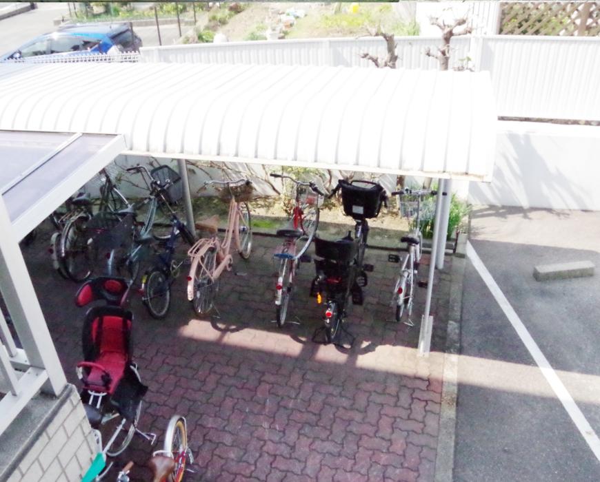 駐輪場・駐車場スペース