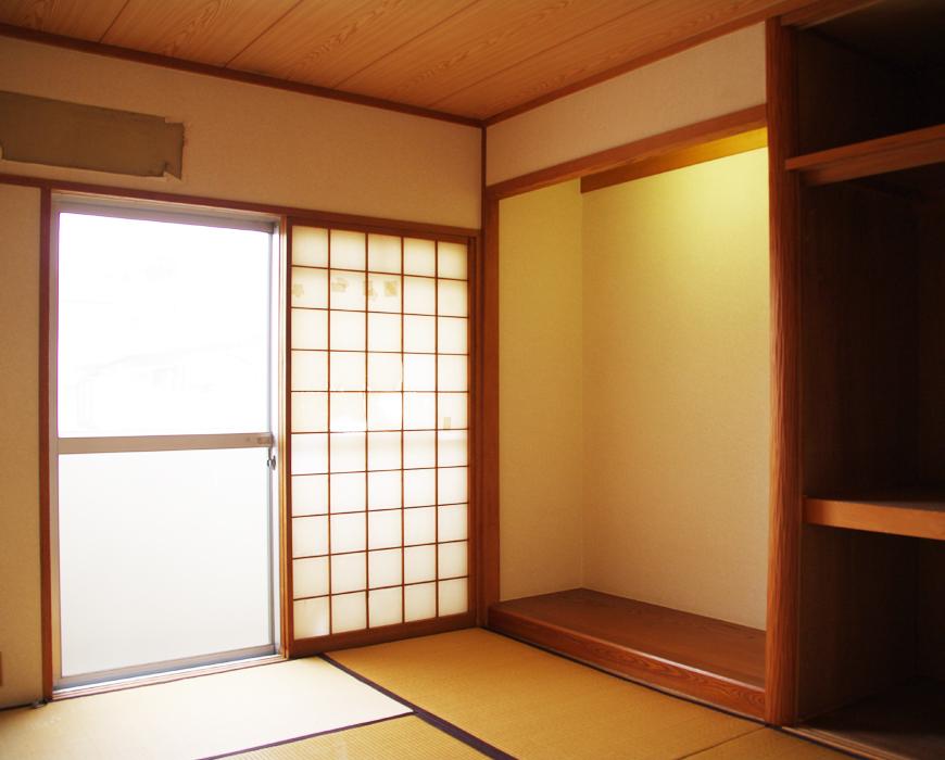 改装前の和室