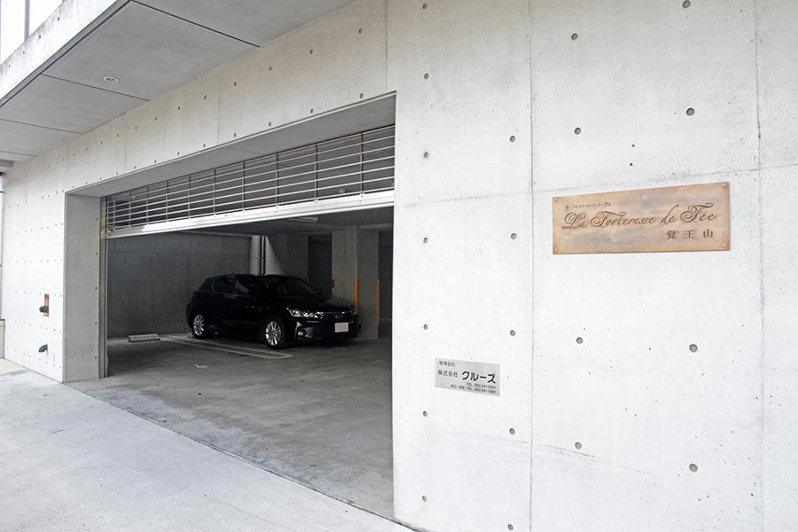 駐車場はシャッター有りでセキュリティ面もバッチリ_MG_2924s
