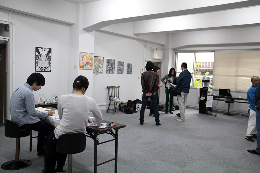 取材日には、アートイベント開催中_MG_5484s